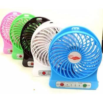 Quạt Tích Điện USB Mini Fan 3 Tốc Độ Gió Siêu Mát - Màu Ngẫu Nhiên