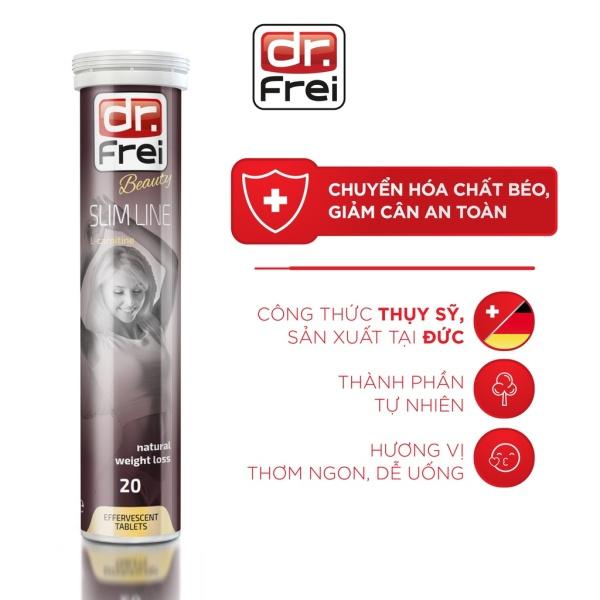 Viên Sủi Giảm Cân Dr. Frei Slim Line L-Carnitine (20 Viên)