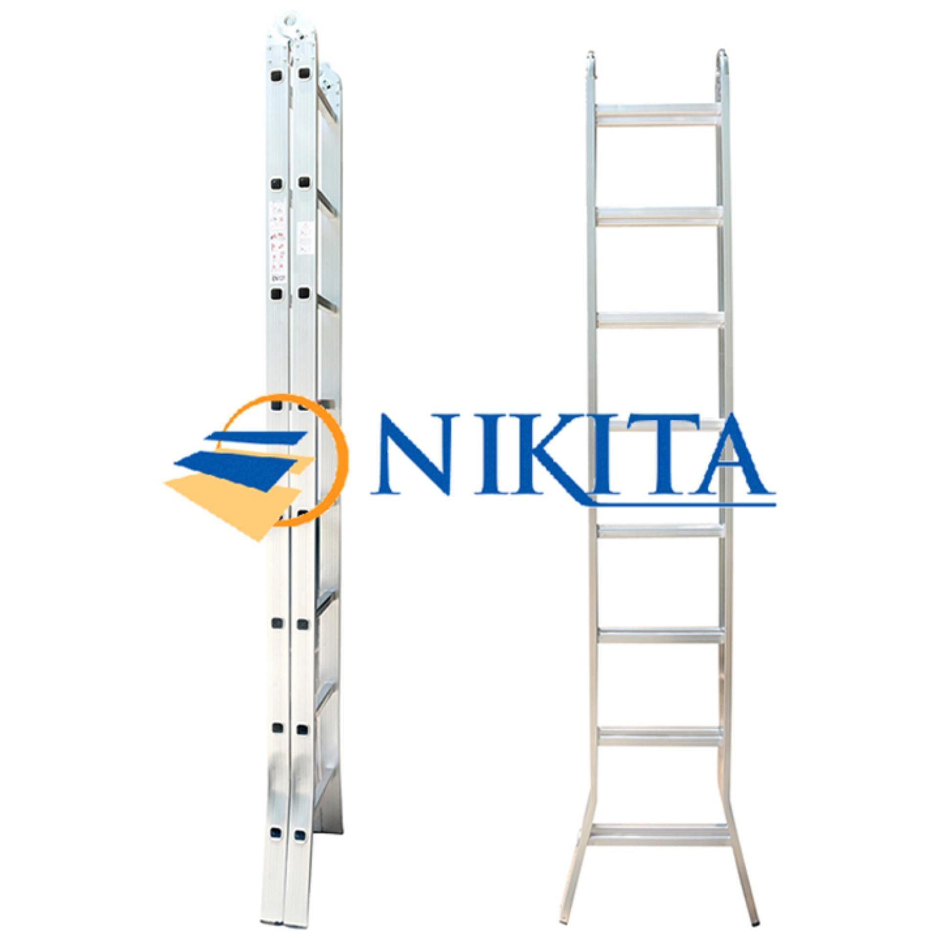 Thang Nhôm Chữ A 4,0m  Nikita NIK20 Nhật Bản - Tải trọng 150kg