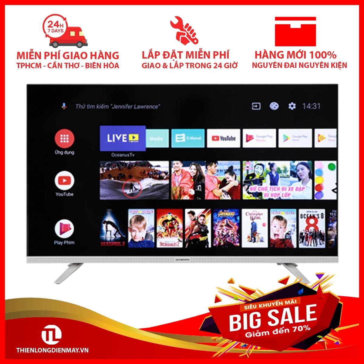 Bảng giá Tivi Led Skyworth 32E6 32 Inch Android TV