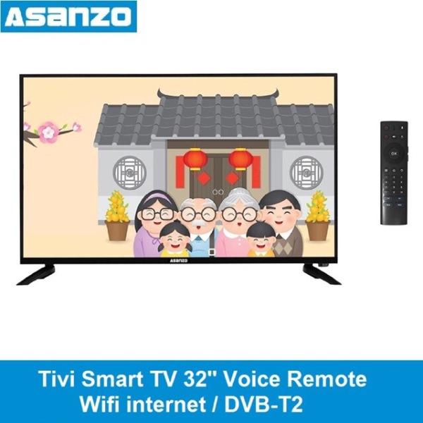 Bảng giá Tivi Smart tv Asanzo 32inch wifi internet remote giọng nói