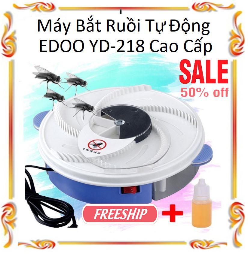 Máy bắt ruồi tự động thông minh EDOO YD-218 Cao Cấp, máy hút ruồi nhặng giá rẻ, Bẫy ruồi - Máy Bắt Ruồi