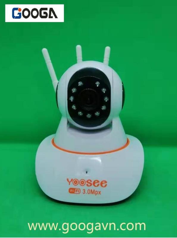 Camera wifi IP app YOOSEE 3 râu bắt sóng mạnh hình ảnh HD 1536P-3.0MP  trong nhà có thể xem được mọi lúc mọi nơi