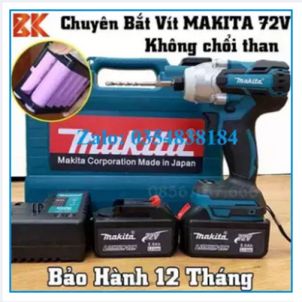 Máy khoan chuyên vít Makita 72v