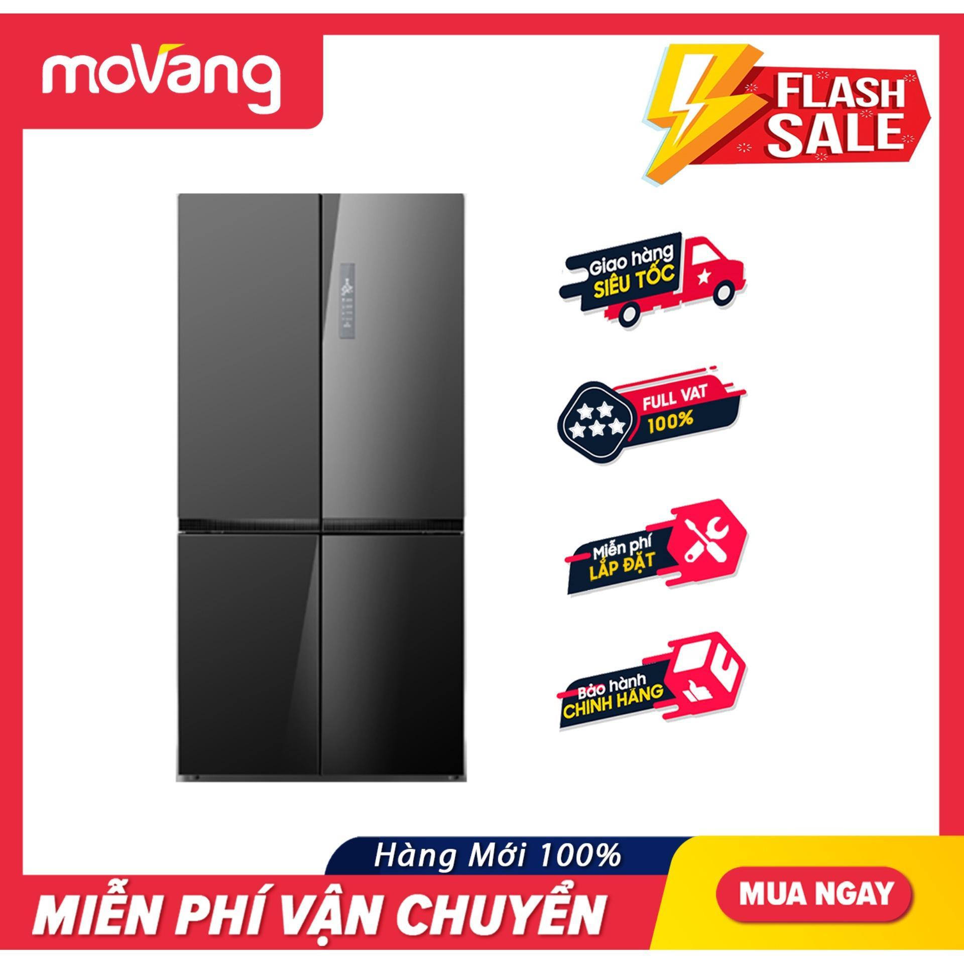 [TRẢ GÓP 0%] Tủ Lạnh ELECTROLUX Inverter 695 Lít EQE6909A-BVN