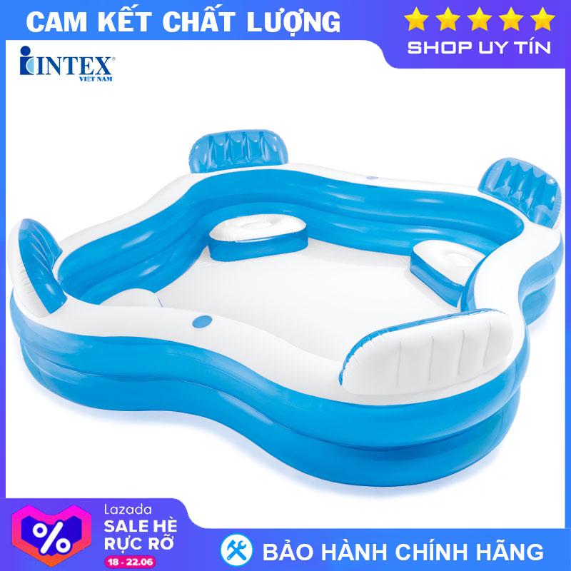 Bể Bơi Phao Salon INTEX 56475 - Hồ Bơi Cho Bé Mini, Bể Bơi Phao Trẻ Em, Bể Bơi Cho Bé Bất Ngờ Ưu Đãi Giá