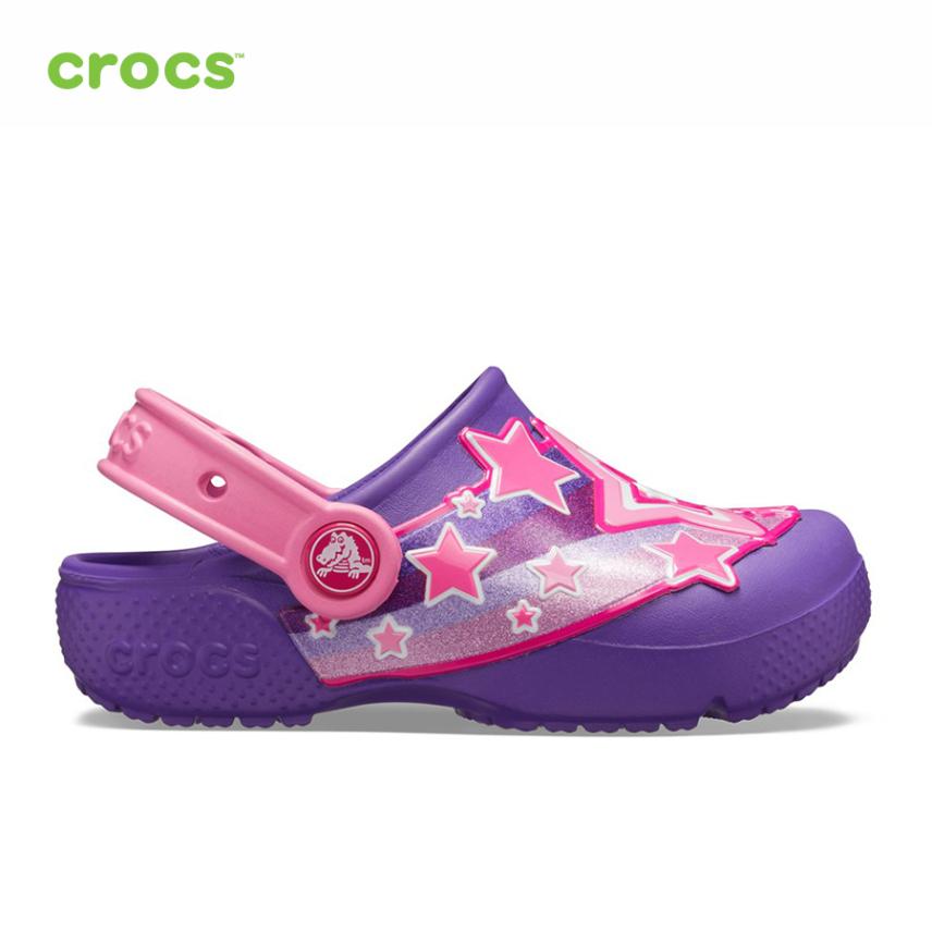 CROCS Giày Lười Trẻ Em Fun lab Shooting Stars Clog 205950 giá rẻ