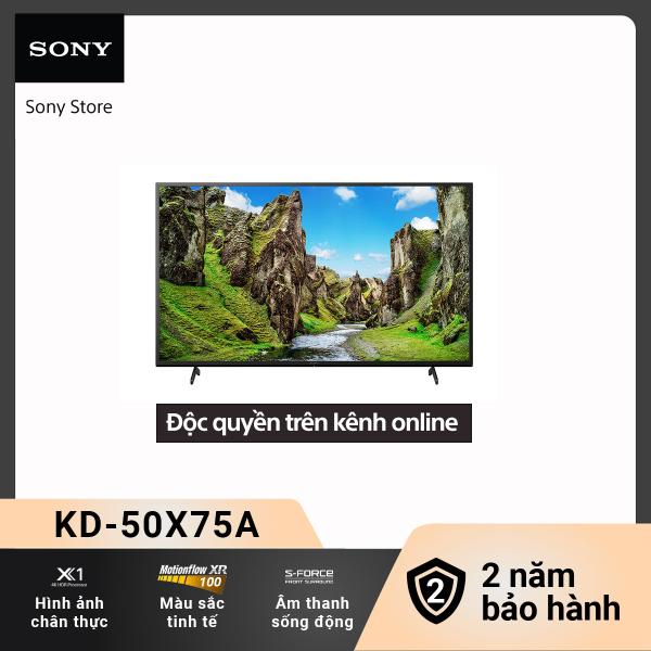 Bảng giá [Voucher 300k Follower][New 2021] Smart Tivi (TV Android) Sony 4K 50 inch KD-50X75A