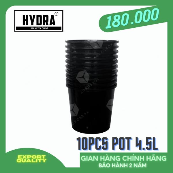 Bộ 10 Chậu nhựa trồng cây cao cấp HYDRA 4.5L
