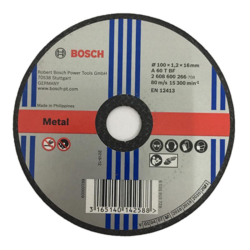 Combo đá cắt sắt + đá mài sắt 100 Bosch ( 1 cặp )