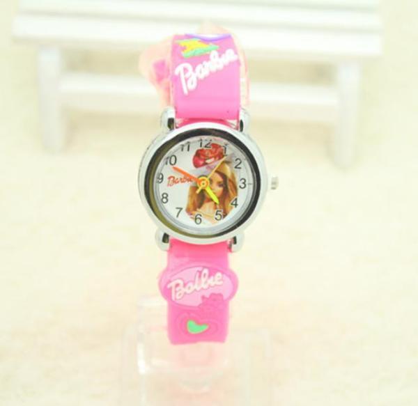 Giá bán { SIÊU GIẢM GIÁ } Đồng hồ cho bé gái hình búp bê Barbie ,hàng đẹp quà tặng ý nghĩa cho bé yêu,mẫu mới 2020 (như hình 100%)