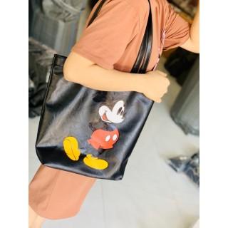 [HCM]Túi xách nữ vừa sách vở túi tote da MICKEY công sở vừa A4 đi hoc đi làm hàng đẹp TOTEMIC + hình thật thumbnail