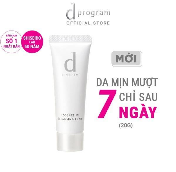 [GIFT] Sữa rửa mặt tạo bọt dưỡng da dProgram Essence In Cleansing Foam 20g cao cấp