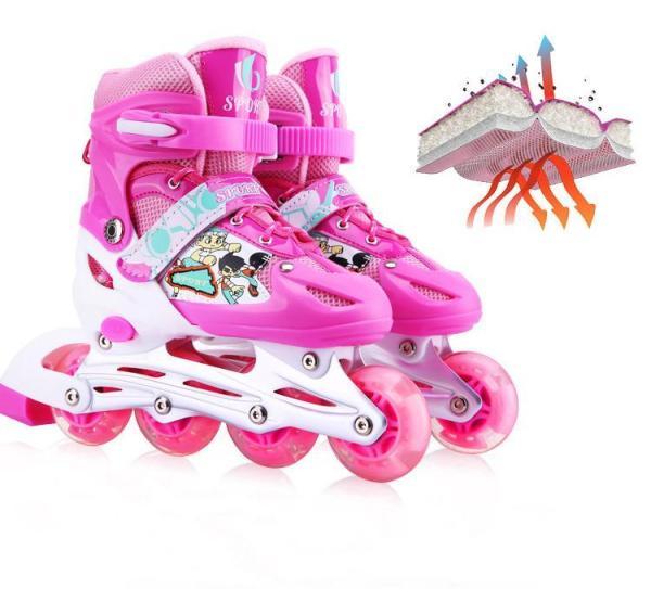 Giá bán Giày trượt Patin Sports tặng kèm bảo hộ khủy tay và đầu gối