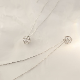 Dây chuyền Dây chuyền bạc nữ Dây chuyền nữ thiết kế tinh tế tỉ mỉ đẹp mắt dành cho nữ XB-DB41 - Bảo Ngọc Jewelry thumbnail
