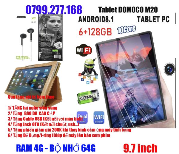 Máy tinh bảng Docomo M20  Android 8.1 RAM 4G  Bộ Nhớ 64G 9.7 inch