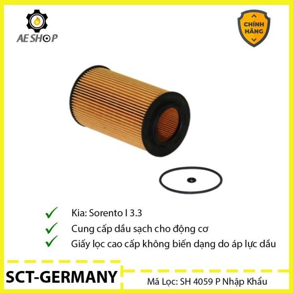 Lọc Dầu Kia Sorento 3.3 SCT-GERMANY SH 4059 P Cao Cấp [Chính Hãng]