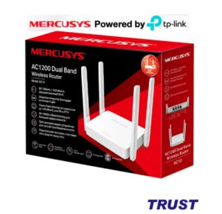 Bộ Phát Wifi Băng Tần Kép Chuẩn AC1200 TP-Link Mercusys AC10 - Cục phát wifi - Router wifi thumbnail