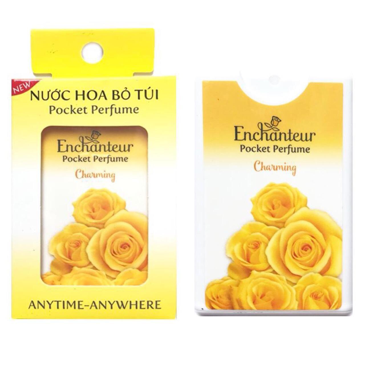 Nước hoa nữ bỏ túi Enchanteur charming 18ml nhập khẩu