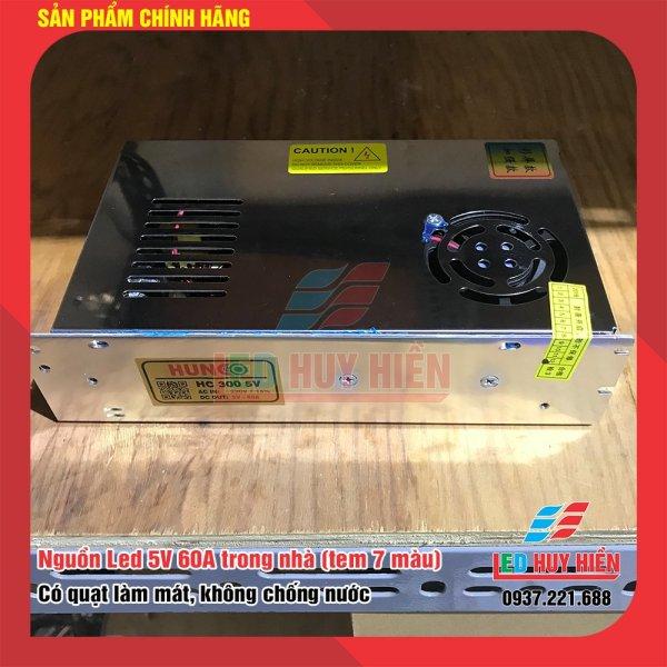 Nguồn led 5v 60a trong nhà có quạt tản nhiệt (Nguồn 5v60a 300W)