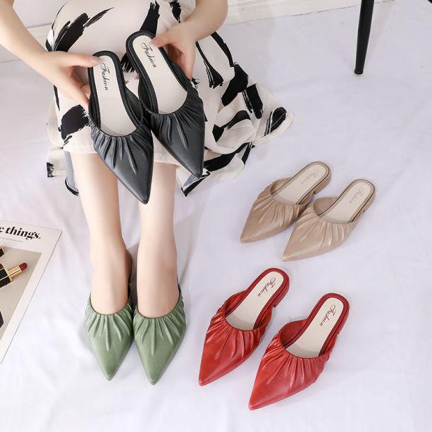 Sục Nữ Fashion Da Bèo Đế 2cm Phong Cách Tiểu Thư giá rẻ