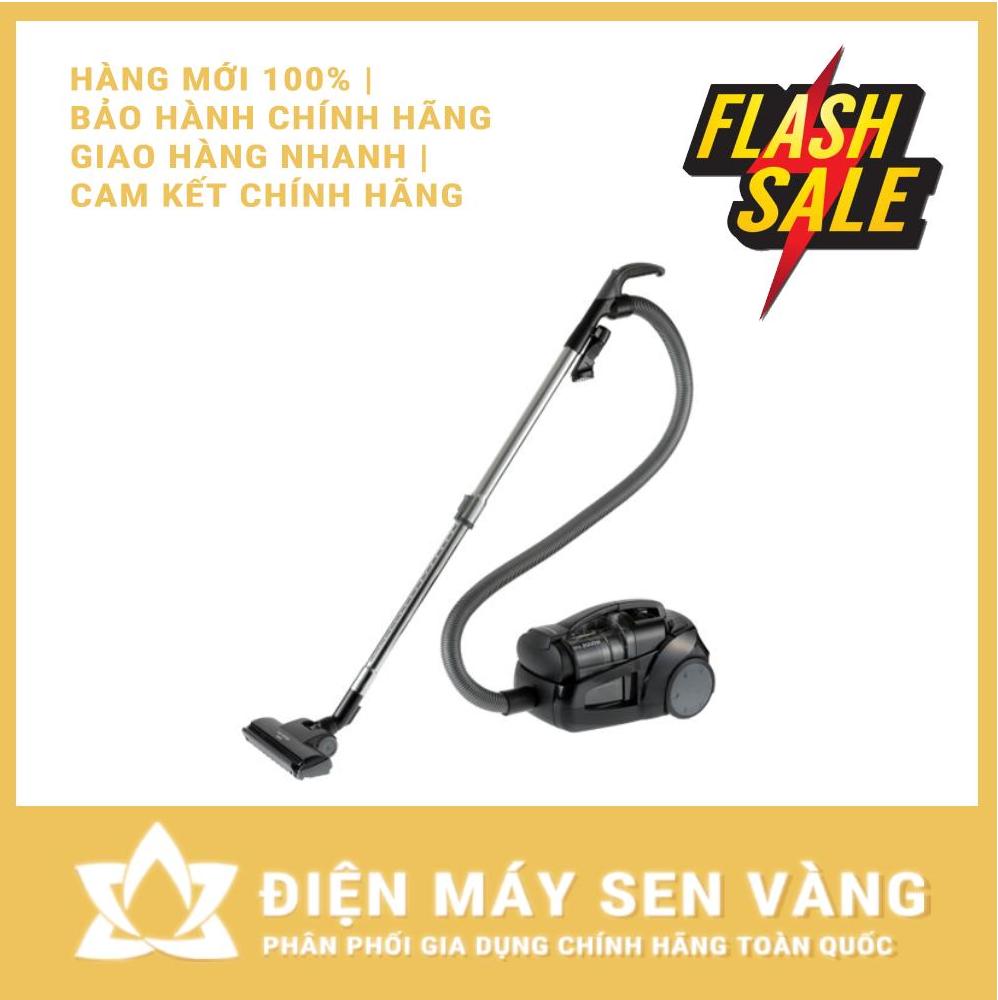 [CHÍNH HÃNG] Máy hút bụi không túi Panasonic PAHB-MC-CL575KN49 2000W - BỘ LỌC HEPA KÉP - MẪU MỚI 2020 - Made in Malaysia (Màu đen)
