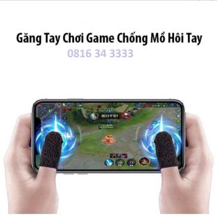 Găng Tay Chơi Game,Bao Ngón Tay Chơi Game Chống Mồ Hôi (PUBG,FIFAI...) bộ 2 ngón thumbnail