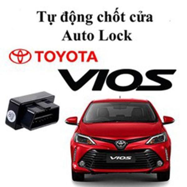 Lock cửa tự động Toyota VIOS, Chốt cửa tự động khi xe lăn bánh zin xe Toyota VIOS đời 2008 đến 2013, cắm giắc gin 100%, lắp đặt dễ dàng cắm cổng OBD2