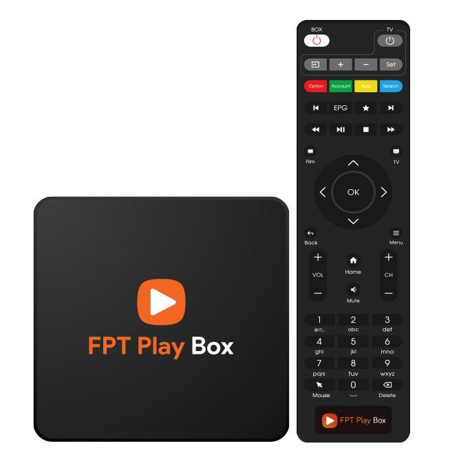 Giá Điều Khiển Thường FPT Play Box 2018