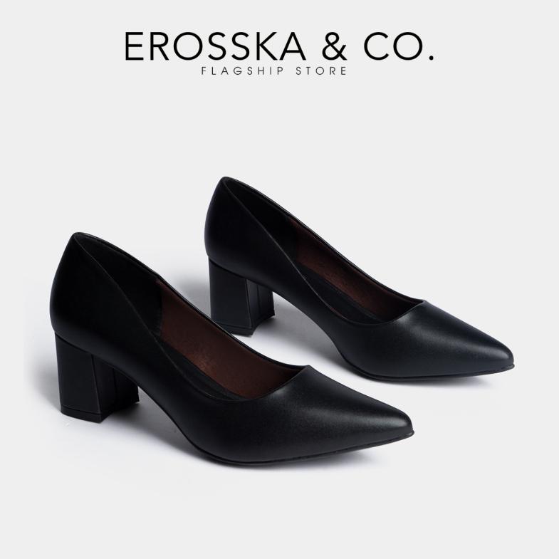 Giày cao gót Erosska mũi nhọn kiểu dáng cơ bản cao 5cm EP011 (BA) giá rẻ