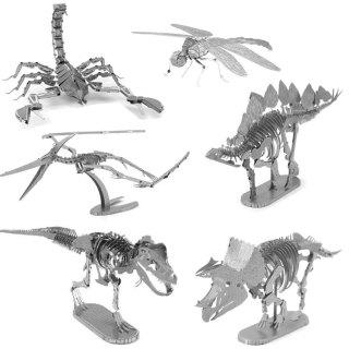 Mô hình 3D bằng thép tự ráp dộng vật thumbnail