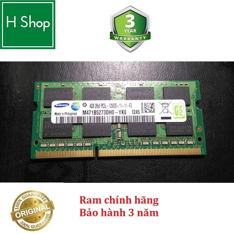 Ram Laptop DDR3L 4Gb bus 1600 - 12800s, hiệu SAMSUNG bảo hành 3 năm