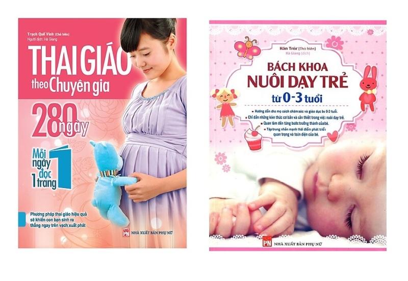 Sách Combo Thai Giáo Theo Chuyên Gia + Bách Khoa Nuôi Dạy Trẻ Từ 0-3 Tuổi - Mhbooks