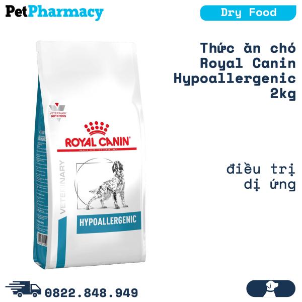 Thức ăn chó Royal Canin Hypoallergenic 2kg - Điều trị dị ứng Petpharmacy