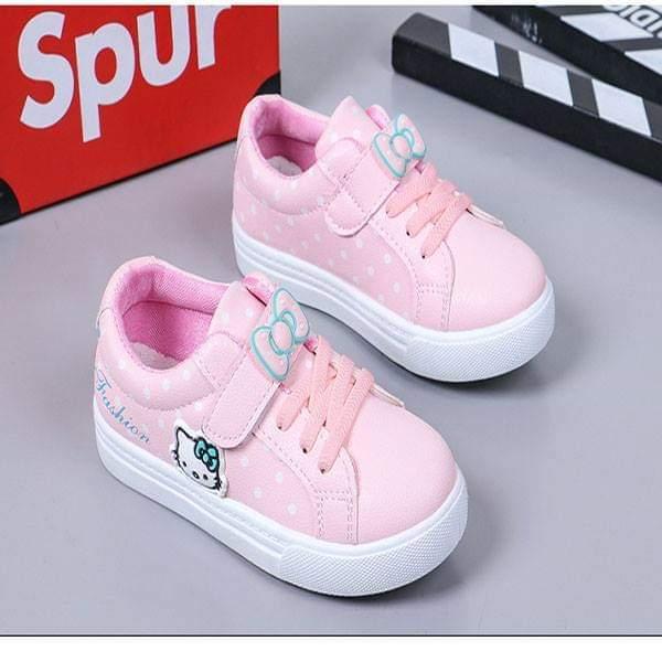 Giá bán Giày bata kitty cho các bé thật xinh
