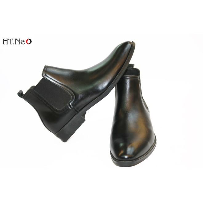 Giày Chelsea Boots Hàng Cao Cấp Da Bò Thật Hot Trend 2021 Da Mềm Lót Êm Đi Cực Thoải Mái Chân(Dn25-De) giá rẻ