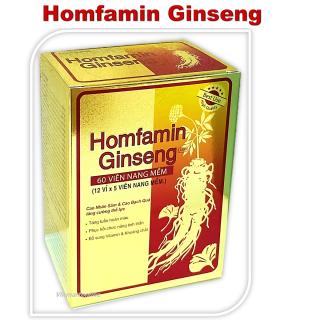 Viên Uống Homfamin Ginseng Hộp 60 Viên thumbnail