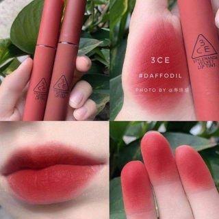Son 3CE Velvet Lip Tint Daffodil 260k Son 3CE Velvet Lip Tint Daffodil (Đỏ thumbnail