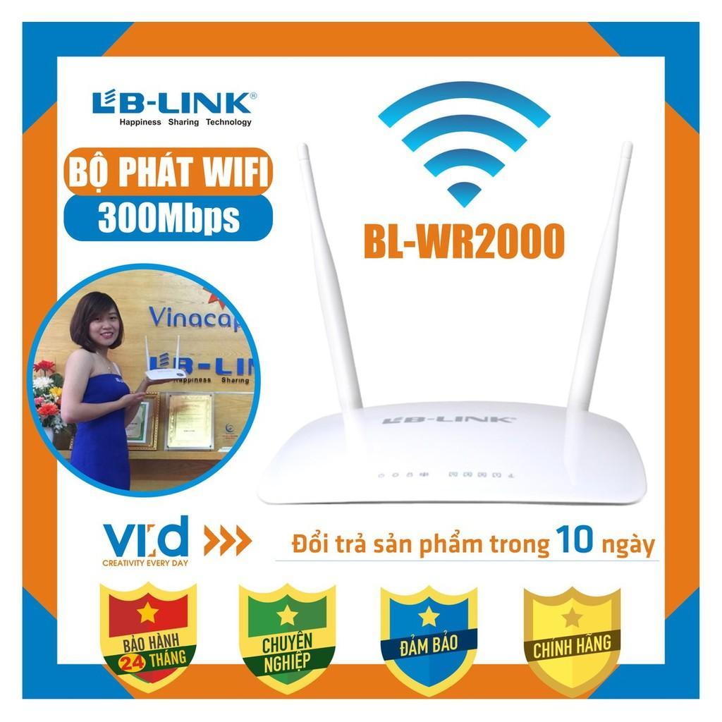 Bộ phát sóng wifi LB-LINK BL-WR2000 - Bảo hành 24 tháng