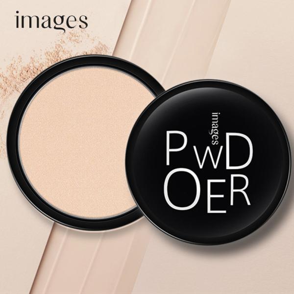 Phấn phủ nén siêu mịn Images Powder tự nhiên bền màu phấn nén kiềm dầu phấn trang điểm đẹp JS-PP01 nhập khẩu