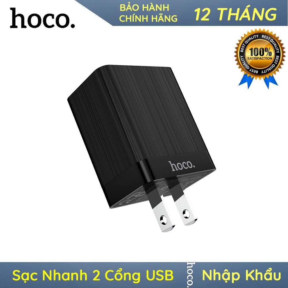 Củ Sạc Nhanh 2 Cổng USB Hoco C51 – Nhập Khẩu