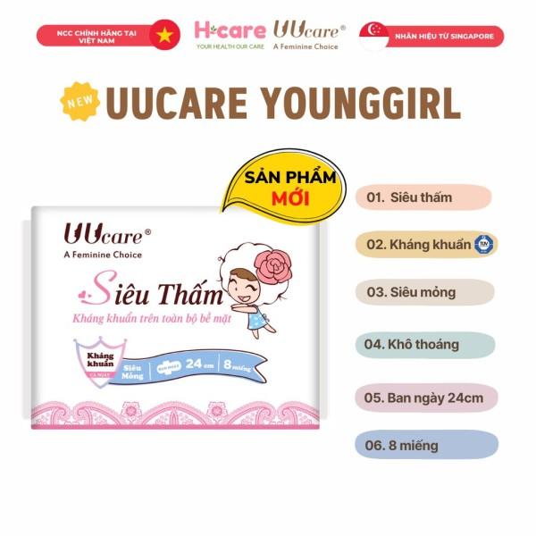 Băng vệ sinh UUcare Young Girl ban ngày 24cm giá rẻ