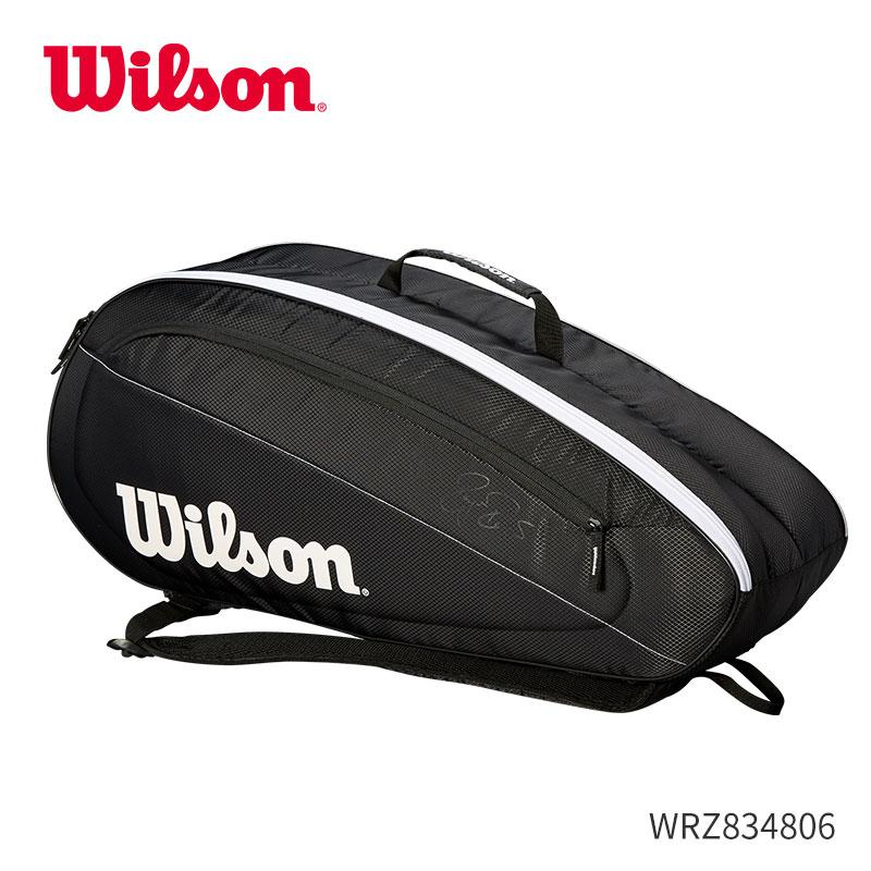 2be69977a Wilson on Tennisbags Federer Series Three Sixty-Two Only a One-Shoulder  Backpack