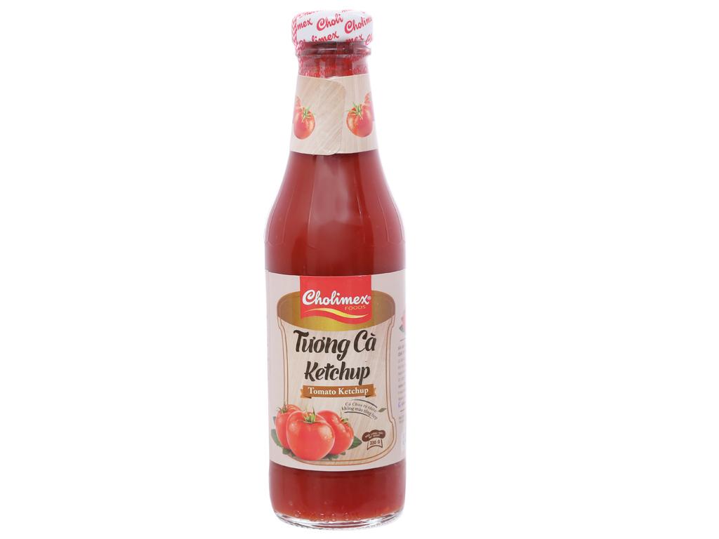 Tương cà Cholimex Ketchup chai 330g [COMBO 3 CHAI]