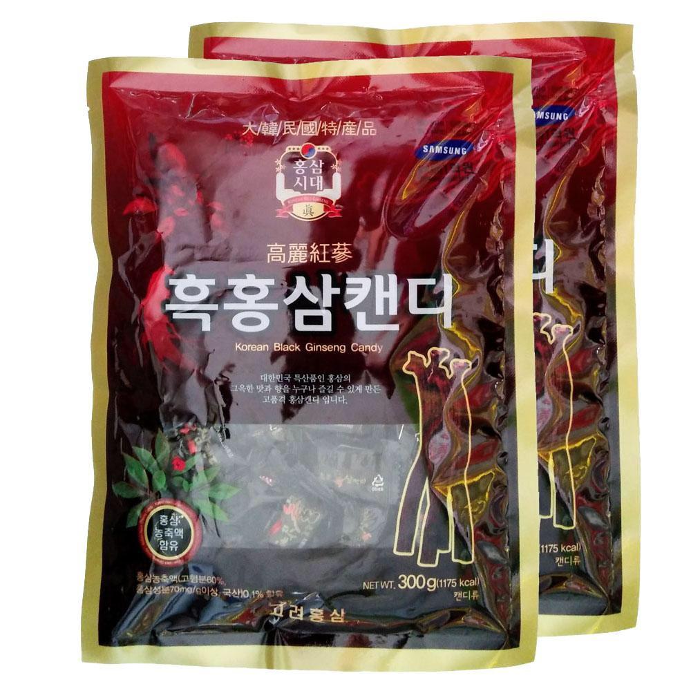 [HCM]Kẹo Hắc Sâm Hàn Quốc 300g - Kẹo Sâm Đen Hàn Quốc - 300gram - Kẹo Sâm Hàn Quốc