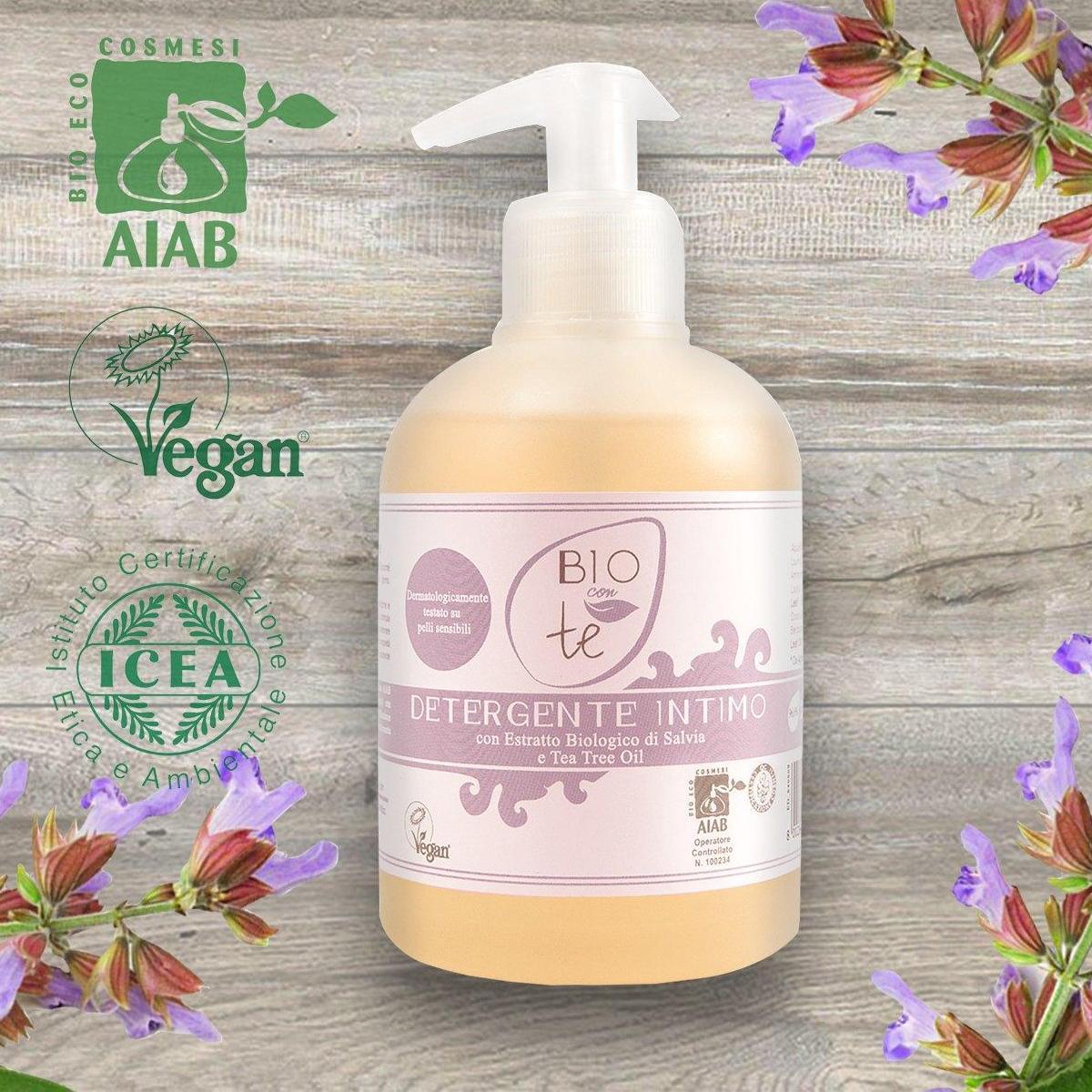 Sữa tắm hữu cơ chiết xuất lô hội và dầu trà 300ml - Pierpaoli nhập khẩu