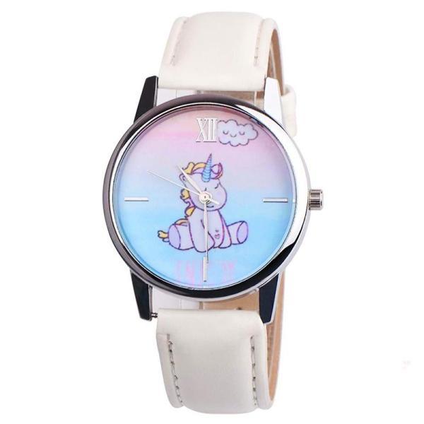 Giá bán Đồng hồ đeo tay cho bé gái hình ngựa 1 sừng dây da cá tính BBShine  – DH006