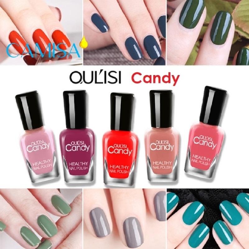 Sơn móng tay lột OULISI Candy nails polish 40 màu sơn tự chọn