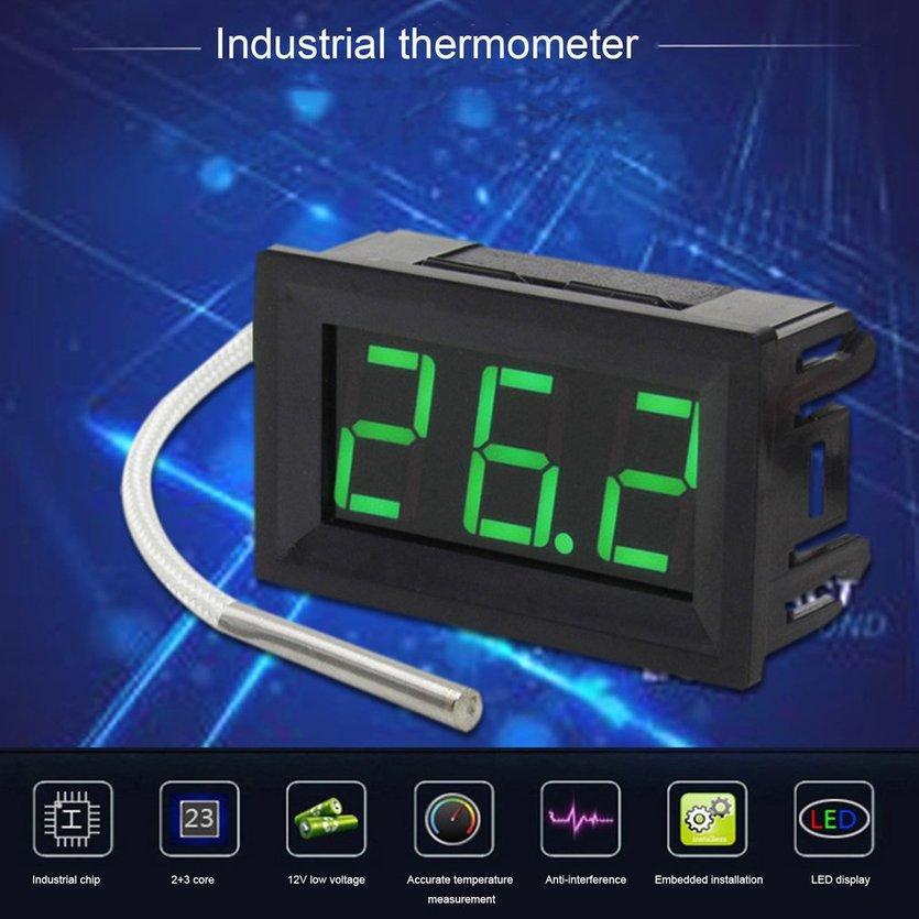 TOP Digital Thermocouple Meter LED Display K-Type Industrial -30~800℃ Gauge