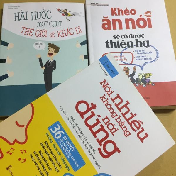 Mua Combo 3 cuốn nói nhiều không bằng nói đúng, khéo ăn nói sẽ có cả thiên hạ, hài hước một chút thế giới sẽ khác đi